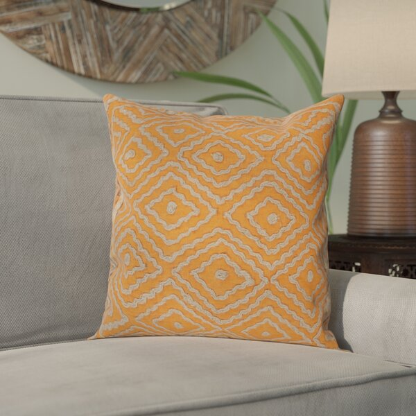 Sala 100% Linen Throw Pillow Cover by Bungalow Rose